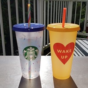 Starbucks Color-Changing Confetti + Wake Up Cups…